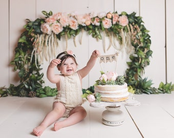 One Cake Topper 1st Birthday First