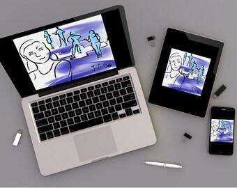 2facedbook: Android/iPhone, iPad, Desktop Wallpaper
