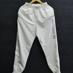 SERGIO TACCHINI Tracksuit Vintage 90's Sergio Tacchini Big Logo Tennis Track  Pants Tracksuit Size M
