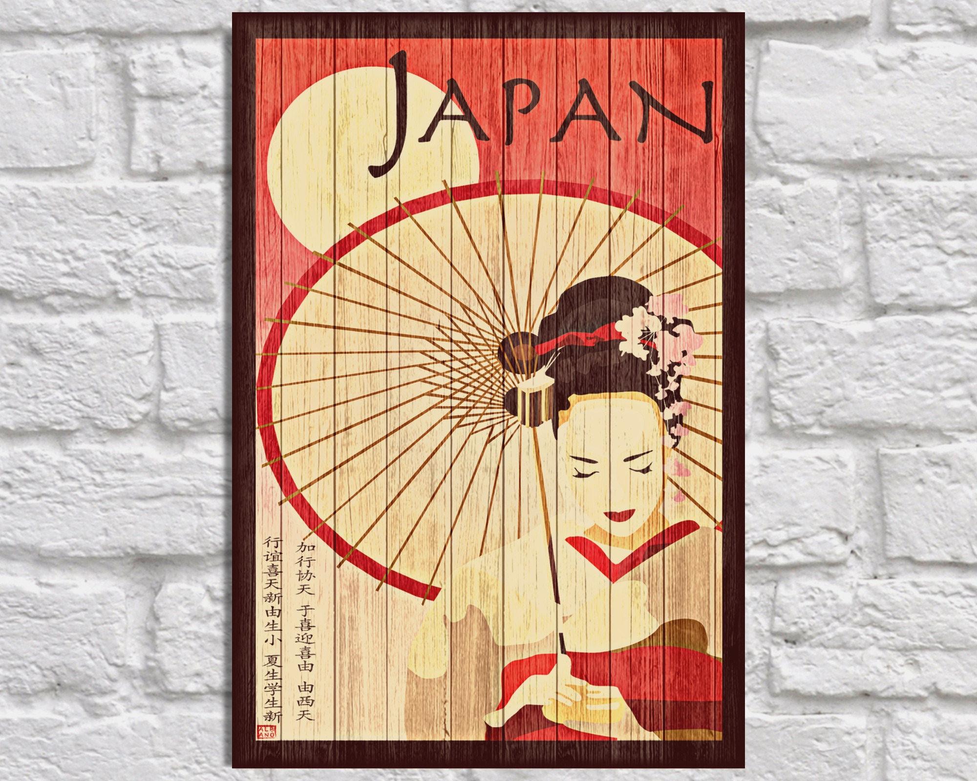 Famous Japanese Wall Art Inspiration - All About Wallart ...
