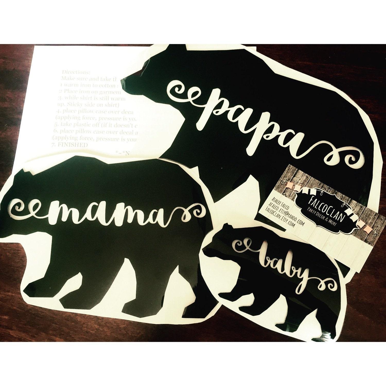 Baby bear shirt papa bear shirt mama bear shirt bear zoom publicscrutiny Image collections