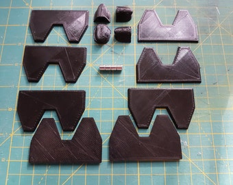 Magnetic Clasp and Alignment kits for Prop and Costume Helmets.