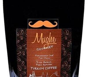 Luxury Ground Turkish Coffee 100% Arabica (500 gr) - Roasted in Wood Fire