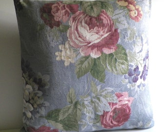 16 Inch Pillow Cover (Floral Pattern 1)