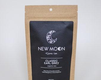 Classic Earl Grey Tea with Bergamot | ORGANIC | Small Batch | New Moon Tea Co.