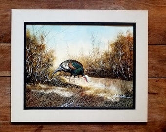 Reserved for Ana *  Armando Hinojosa Oil On Board Painting, Armando Hinojosa Artist, Texas Art, Original Painting, Wildlife Painting