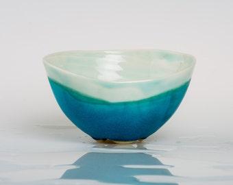 XAGRANIA - Porcelain bowl, unique, handmade, OOAK