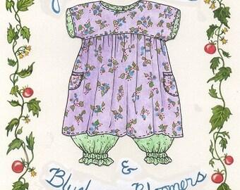 Jam Fingers Dress & Bloomer Pattern by Paisley Pincushion