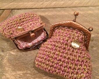 Gorgeous, pink wallet