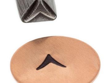 Southwest Stamp- Solid Metal Design Stamp-5mm-Steel Stamps Metal Stamping Supplies-Metal Supply Chick-SSS25