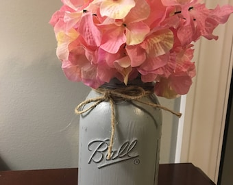 Ball Mason Jar Vase
