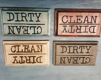 Clean/Dirty Dishwasher Magnets