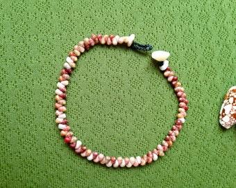 Hawaii Bracelet - Shell Beach - Shell Jewelry - Nautical Eco Friendly Rare Seashell Bracelet Kauai Beach Island Seashell Bracelet Hawaii