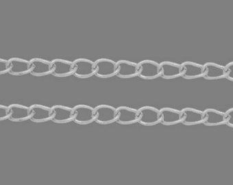 1 M OF STRING CHAIN LINKS 6 MM X 4 MM A2