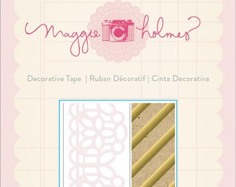 Crate Paper Maggie Holmes Styleboard Decorative Tape-- MSRP 5.00
