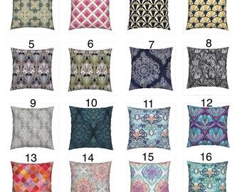 Art Deco Throw cushions art scatter pillows cushions cover floral throw pillow yellow cushion floral cushion