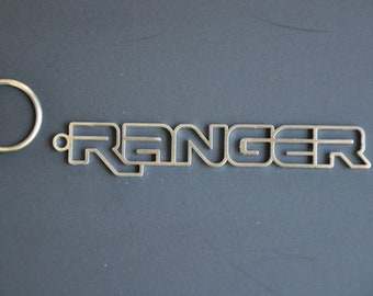 Ford Ranger Keychain Schlüsselanhänger Edelstahl