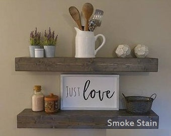 Floating Shelf, Floating Shelves, Bathroom Shelf, Kitchen Shelf, Rustic Shelf, Nursery Shelf, Farmhouse Shelves, Kitchen Shelving