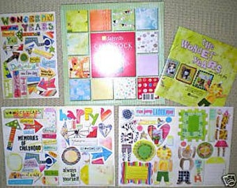 RARE Wonder Years Collection from Daisy D's celebrating children for Scrapbooking, Cardmaking, and more!