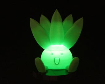 Pokemon Oddish Lamp Cute Night Light, adorable led pokemon go birthday gift