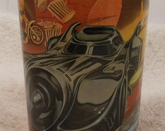 Vintage 1992 The Batmobile Collector's cup