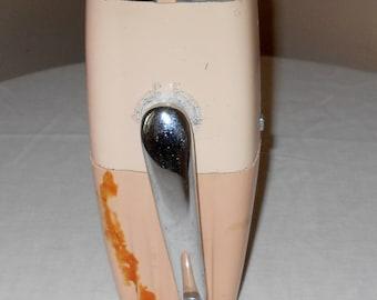 Vintage Ice-O- Mat - Vintage Ice Crusher - Light Pink Ice Crusher - Ice Crusher