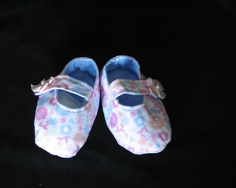 Baby Girls Mary Jane Style Booties