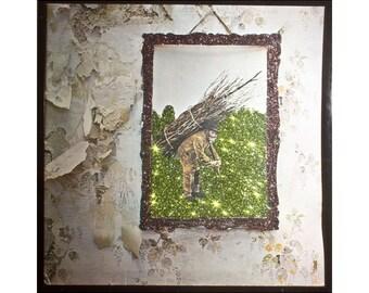 Glittered Led Zeppelin IV Album