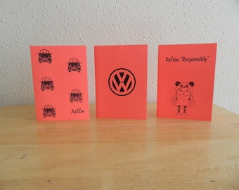 Rare Hippie Note Card Set