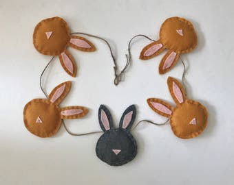 The Bunny Nursery Banner | Garland | Baby Shower Gift