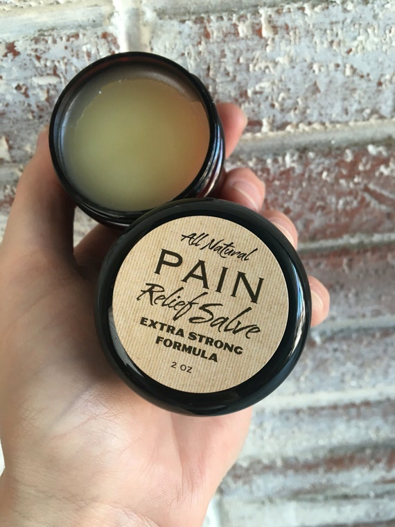 PAIN RELIEF SALVE {All Natural Extra Strength Remedy for Pain, Inflammation, Muscle, Joint and Nerves}
