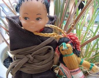 Vintage Skookum,Native American Indian Doll