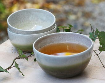 Tea bowl / stoneware - ceramic - homemade coffee