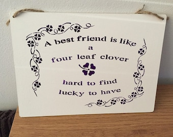Best friends Clover leaf