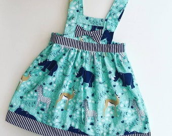 Baby dress, baby clothes, baby clothes girl, girls dress, baby clothes, girls dresses, baby girl, pinny dress, kids clothes, safari dress