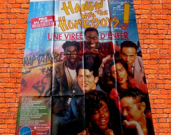 "1991 original poster ""Hangin with the homeboys"""