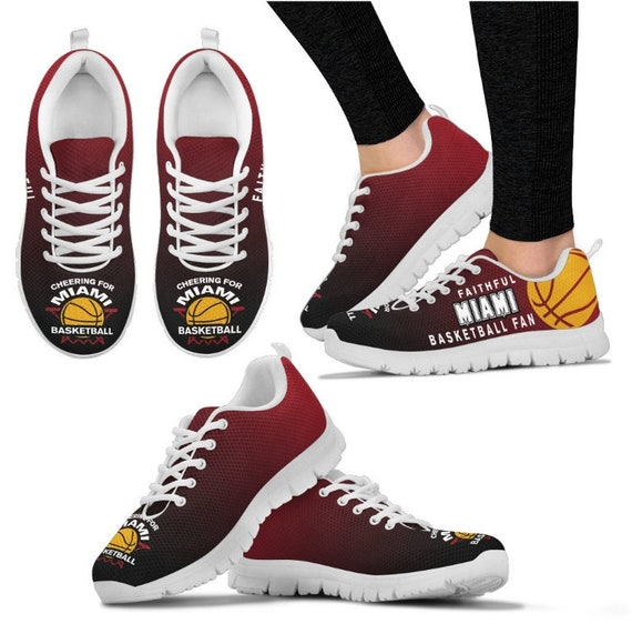 Shoes Walking Sneakers PP Fan Miami 016A Heat Basketball BK HB IqfBxXF