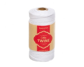 Cotton Bakers Twine 12ply 1.2mm X 100m