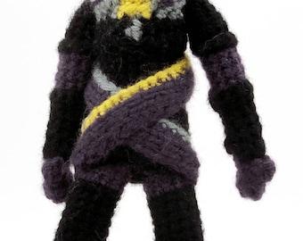 Tali'Zorah nar Rayya / vas Normandy (Mass Effect) - Handmade crochet original design doll