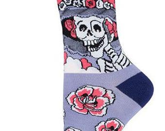 Dia de los Muertos La Catrina Socks