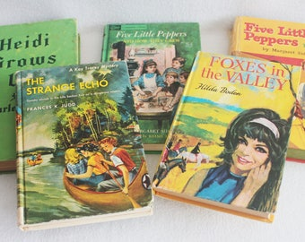 Old book journal--you choose the book / Recycled Book // Childrens Adventure Books by PrairiePeasant