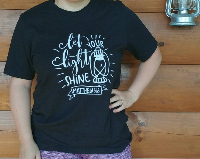 Let Your Light Shine - Unisex T-Shirt