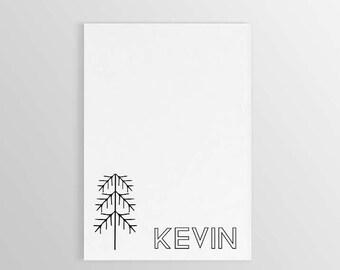 Tree Notepad ~ Custom Tree Notepad ~ Personalized Tree Stationary ~ Custom Notepad ~ Graduation Gift ~ Teacher Gift