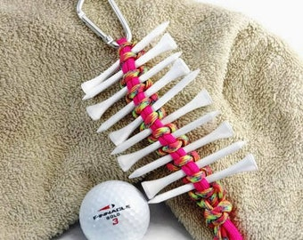 Golf Gift for Her, Tee Holder, Golf Tee Holder, Golf Accessory, Golf Tee, Golf Gift, Golf Tee Organizer, Tee Caddy, Golf Tournament Prize
