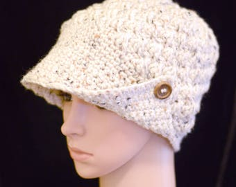 Country  Button Brim Hat