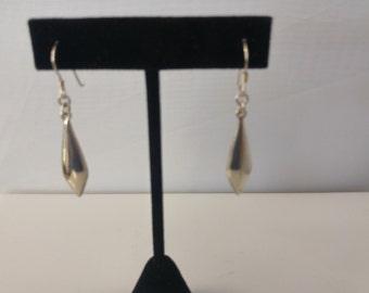 Sterling dangle earring