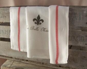 Kitchen Towel Ma Belle Maison, tea towels, kitchen cloth, kitchen towels, kitchen retro, kitchen