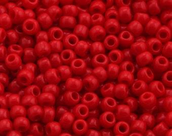 11/0 TOHO beads * Opaque pepper Red *-TR-11-45-beads, 2.2 mm-10 g