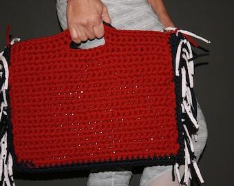 T-shirt yarn laptop bag