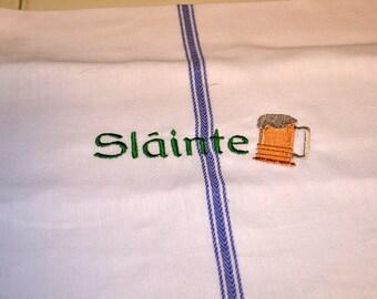 Slainte Beer Towel